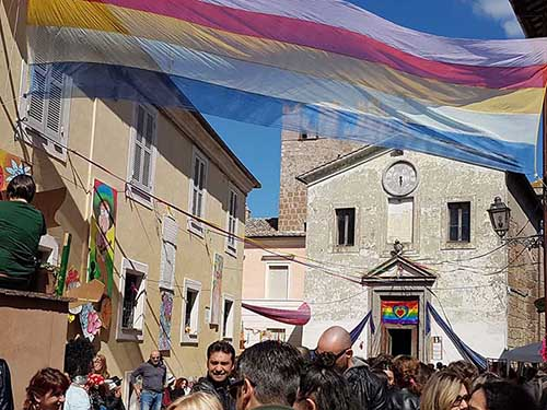 Peace Love Festival Hippie 2018 Calcata