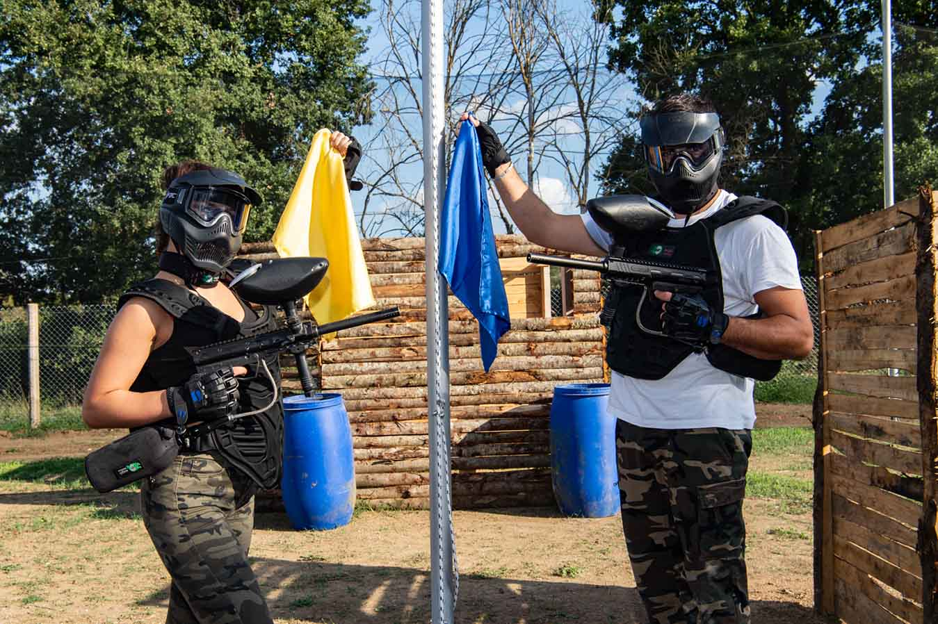 partita paintball Calcata